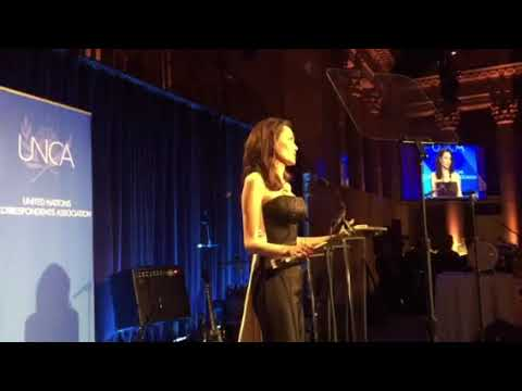 Angelina Jolie's speech at the UNCA dinner award
