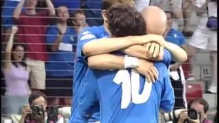 Italy 2-1 Sweden Euro 2000