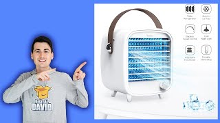 Portable Cooling Fan with Icebox // SmartDevil Personal Air Cooler Review