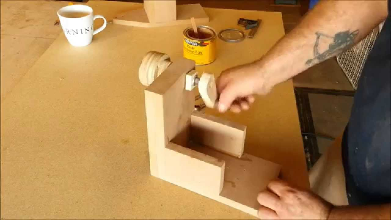How To Make Wood Balls With A Router  Jig Build  YouTube