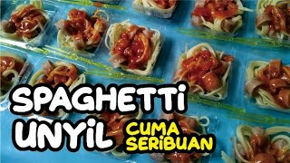 TERBUKTI LARIS!  Jualan Spaghetti Murah  Pas Dijual untuk kantin sekolah ! Ide Bisnis Modal Kecil
