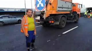 Смотреть видео Слепая Зона. ДТП. Москва. онлайн