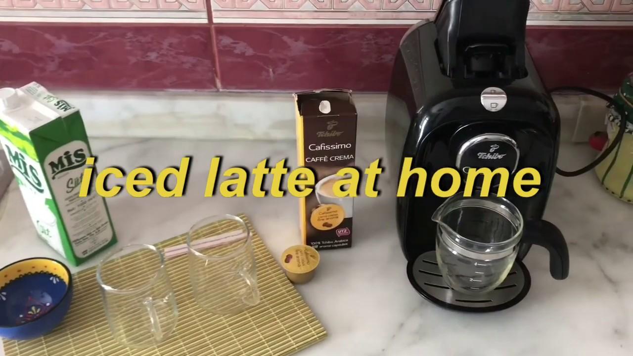 Genieße den reduzierten Preis Bestseller einkaufen Großhandelspreis 2019 iced latte at home in 3 minitue | w/tchibo cafissimo easy and quick