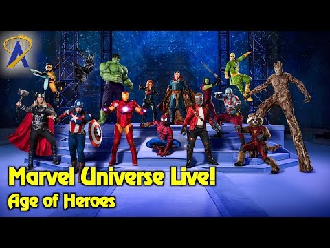 Highlights from Marvel Universe Live: Age of Heroes