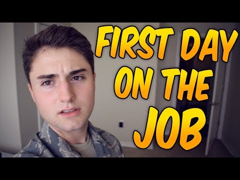 First Day on the Job! / United States Air Force