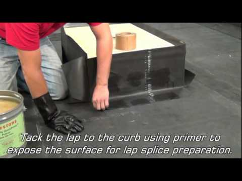 Rubbergard Epdm Curb Wrap Youtube