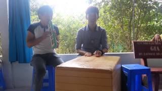Acoustic cajon chế