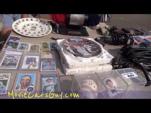 Swap Meet Love Flea Market Date Picking up Women & Deals Bazzar Walkaround Collectibles Video