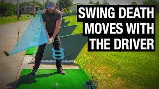 """2 Golf Swing """"Death Moves"""" With Your Driver"""