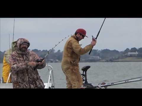 Lake LIvingstron  Blue Cat Fishishing With Loy Deason