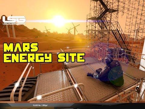 Space Engineers - Mars Renewable Energy Site