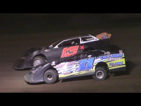 ULMS Super Late Model B-Main | McKean County Raceway | 9-30-17