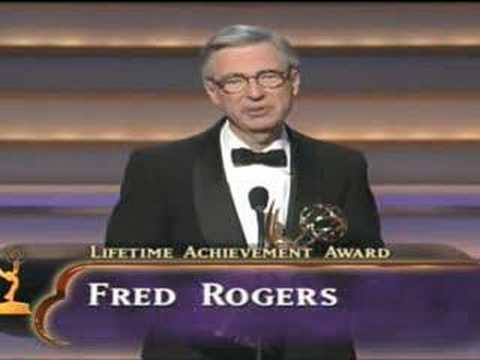 Fred Rogers Acceptance Speech 1997 Youtube