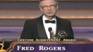 Fred Rogers Acceptance Speech - 1997