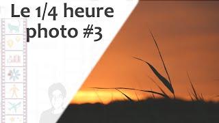Episode 85 : Le 1/4 h photo #3 | Moutons et coucher de soleil