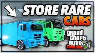 GTA 5 Online - *STORE MODDED DUNE IN GARAGE* Glitch 1.37 (How to Store Modded Vehicles in Garage)