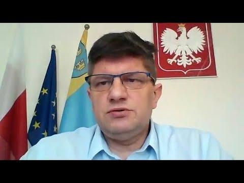 Koronawirus - wideokonferencja prezydenta Pabianic