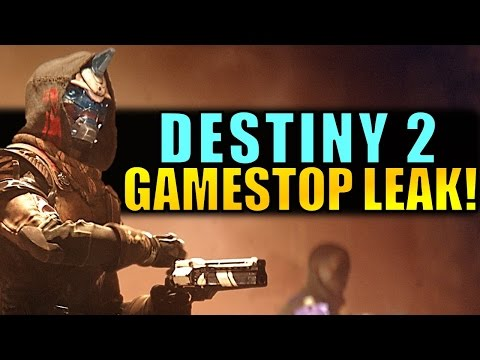 Destiny 2: GAMESTOP LEAK! New Promo Material/Info Coming Soon?!