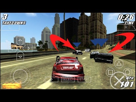 Download And Run Burnout Paradise On Android | Best Car Racing Game | PPSSPP Game