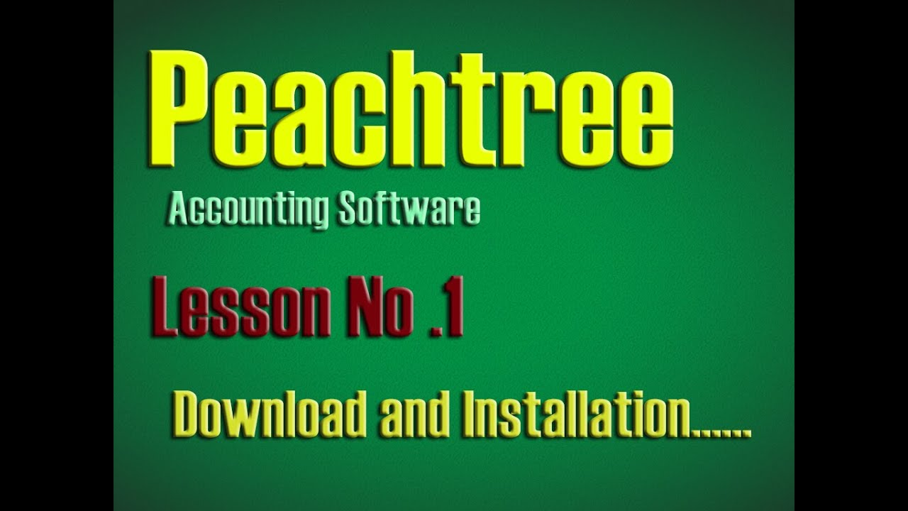 peachtree accounting software free download 2015 with crack
