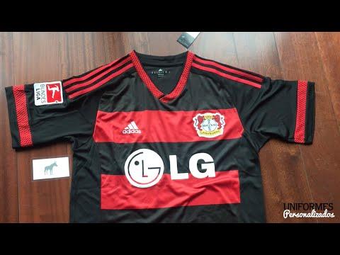 Bayer Leverkusen 15-16 (Playera Local) Bundesliga.