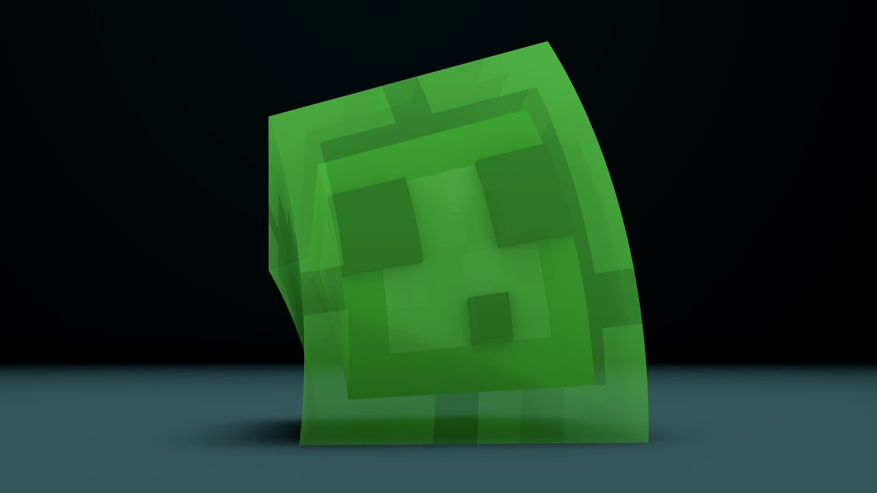 Cinema 4D Minecraft Slime Rig - YouTube