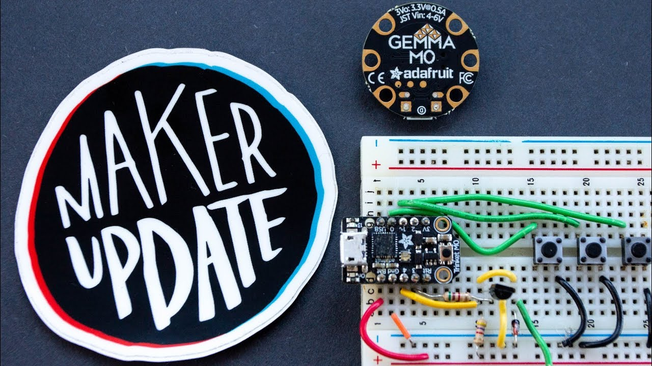 Maker Update: Infinite Keanu [Maker Update #130] @makerprojectlab @adafruit  edition! #adafruit