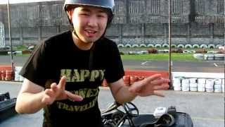 Armie Yuson Adventures - Kart Racing In Tarlac