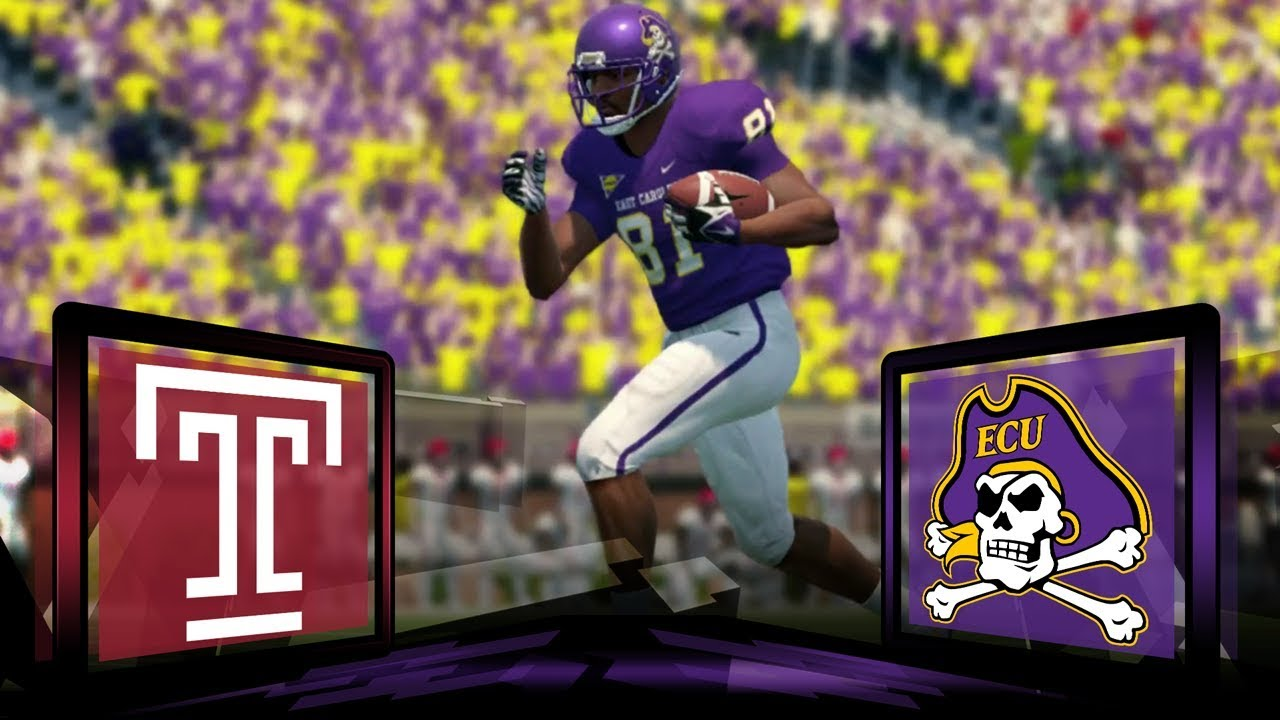 Image result for East Carolina Pirates vs. Temple Owls