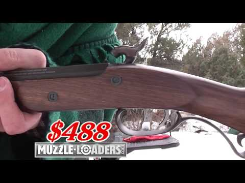 Shooting The Traditions Mountain Rifle .50cal Percussion