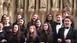 SVE sings Get Away Jordan - New College Oxford