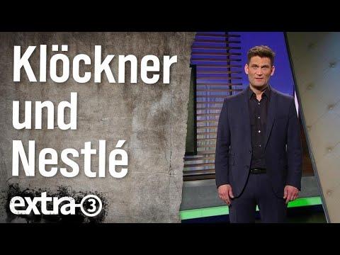 Lobbyismus aktuell: Julia Klöckner und Nestlé | extra 3 | NDR