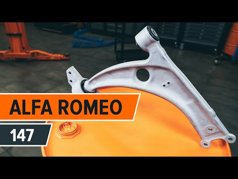 How to replace front lower arm on ALFA ROMEO 147 TUTORIAL | AUTODOC