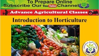 Video Introduction to Horticulture  part - 1 (Hindi/English) Agricultural Field Officer IBPS download MP3, 3GP, MP4, WEBM, AVI, FLV April 2018