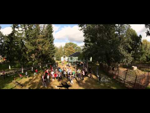 Harlem Shake with children from boarding school. Ukraine, Zhytomyr oblast, Dovbysh