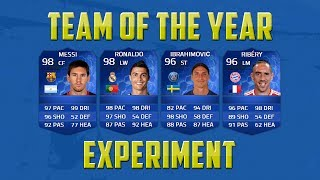 One of ITANI's most viewed videos: FIFA 14 Full TOTY Squad Experiment Ultimate Team
