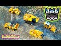 Transformers Construction Vehicles Knock Offs in Action - Toy Unboxing, Review