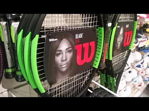 Wilson 2017 Tennis Racket Unboxing