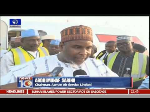 Azman Air Services Launches 5 Aircrafts In Kano 25/11/15