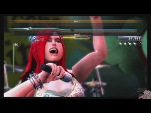Rock Band 3 Karaoke - Man in the Box by Alice in Chains