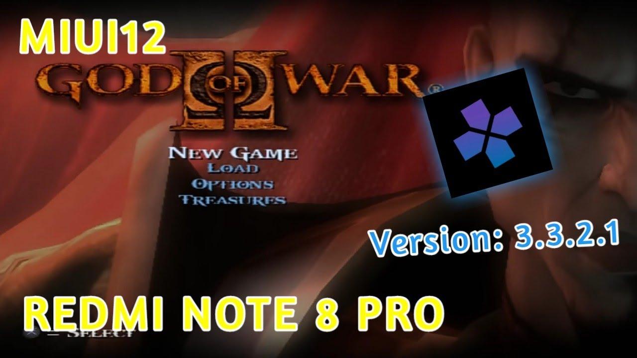 Download REDMI NOTE 8 PRO GOD OF WAR 2   DamonPS2 PRO V3.3.2.1 - Helio G90T