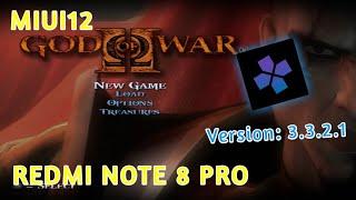 REDMI NOTE 8 PRO GOD OF WAR 2   DamonPS2 PRO V3.3.2.1 - Helio G90T