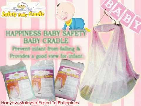 happiness baby brand safety baby textile cradle   hanyaw malaysia export to philippines   youtube happiness baby brand safety baby textile cradle   hanyaw malaysia      rh   youtube