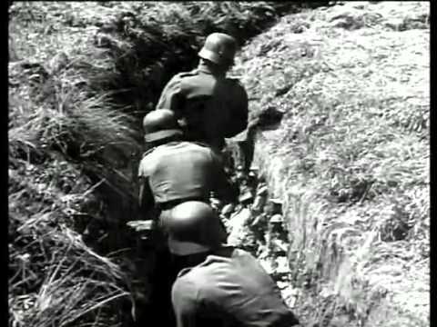 WW2 German Snipers. 4/5.  Der deutsche Scharfschütze 1944 English German Audio.