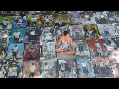 Heather Haynes Congo:Wall of Courage