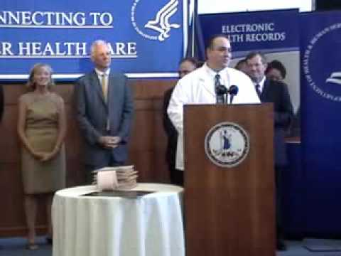 Electronic Health Records News Conference