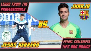 An analysis of janjo and herrero, two fantastic goalkeepers. see how they perform in this epic clash between these massive teams spanish futsal - barc...