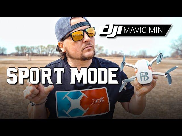 DJI Mavic Mini / SPORT MODE (How FAST Will it Go?)