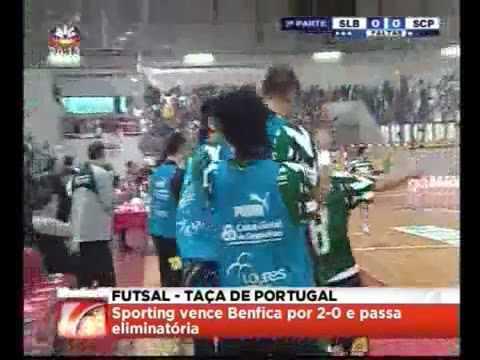 Futsal :: Benfica - 0 x Sporting - 2 de 2007/2008 2Elim Taça de Portugal