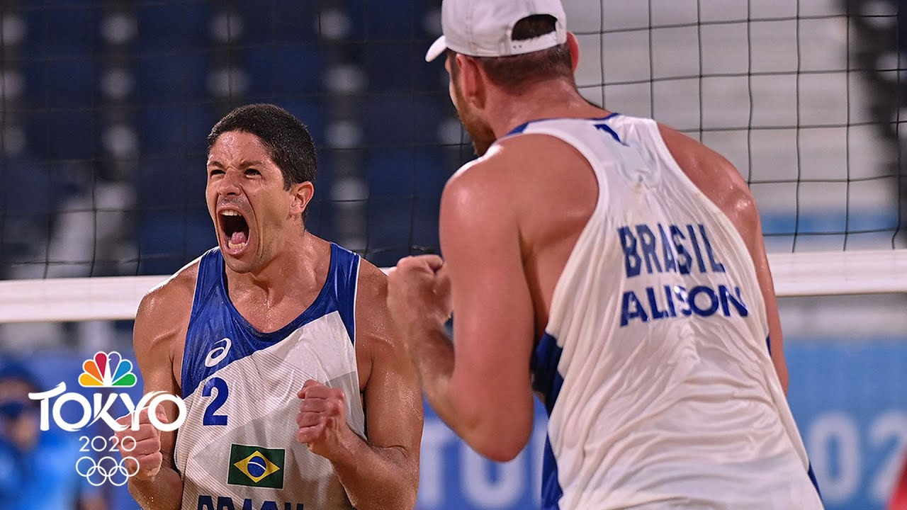 Brazil's Alison and Alvaro cruise past Mexico and into quarters | Tokyo Olympics | NBC Sports